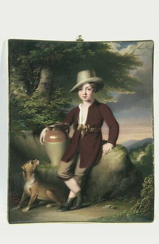 Portrait d'un garçonnet