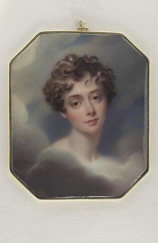 Portrait de Lady Caroline Lamb