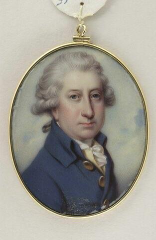 Portrait du Marquis Arthur de Donegall, en buste