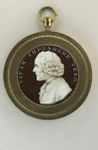 Portrait de Jean Jacques Rousseau, en buste