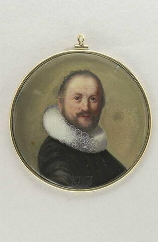 Portrait d'homme d'après un tableau de Rembrandt de 1632