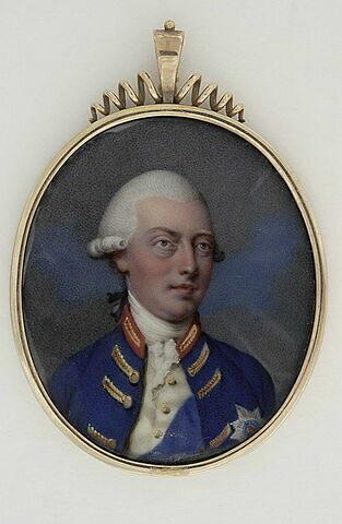Le roi George III d'Angleterre