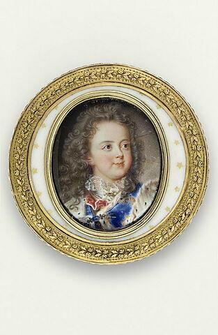 Portrait de Louis XV, enfant