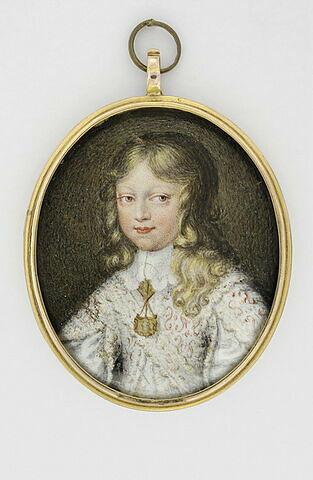 Portrait de Louis XIV, enfant, à mi-corps