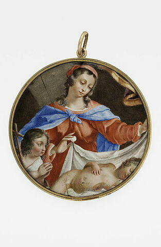 Vierge à l'Enfant avec le petit saint Jean-Baptiste