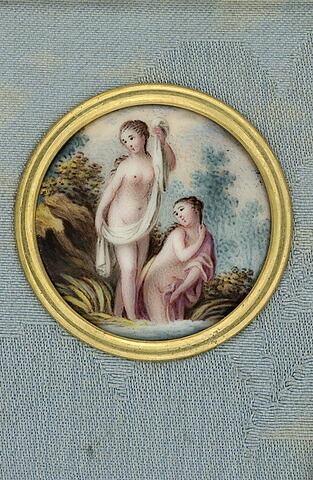 Vénus au bain avec une nymphe