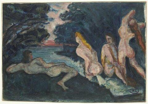 Quatre baigneuses