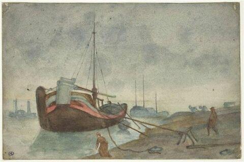 Barques de pêche amarrées