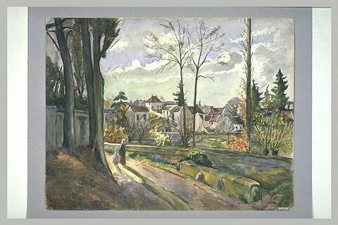 Vue d'Auvers-sur-Oise