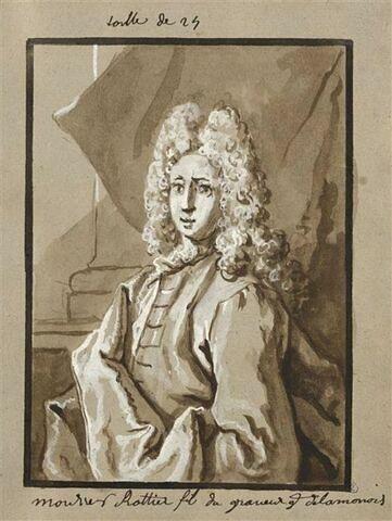 Portrait de Joseph-Charles Roettiers, fils du graveur de la monnaie