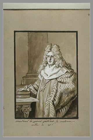 Portrait du président de Mesmes