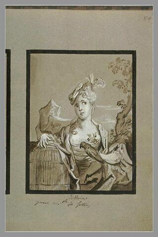 Portrait de mademoiselle de Comminges