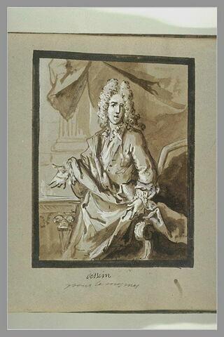 Portrait de J.-A. de Mesme
