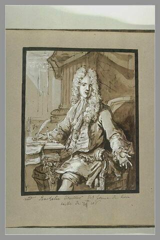 Portrait de monsieur Bachelier, directeur des fermes de Lyon