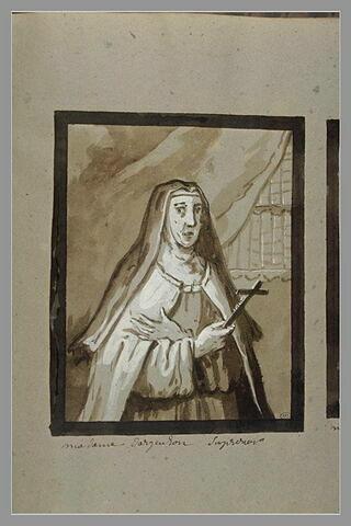 Portrait de Marie-Scolastique Voyer d'Argenson