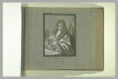 Portrait de Claude Couplet, trésorier de l'Académie des Sciences