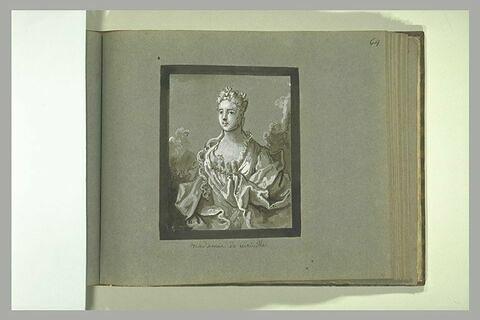 Portrait de madame de Viriville
