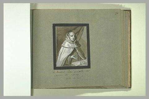 Portrait de Carlo Corniaccioli, général des Carmes Déchaussés