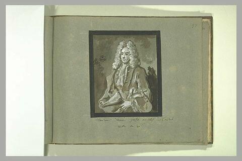 Portrait de monsieur Verrier, greffier en chef des consuls