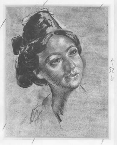 Portrait d'une jeune Arlésienne