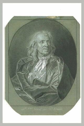 Portrait d'homme âgé