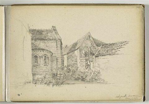 Une chapelle romane d'Auvers-sur-Oise