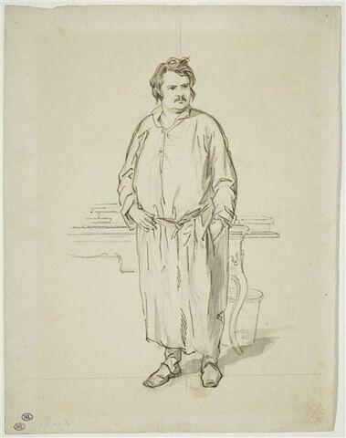 Portrait d'Honoré de Balzac