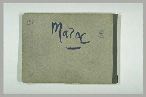 """Annotations manuscrites : """"Maroc"""""""