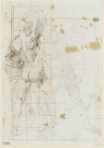 Achille jurant de venger Patrocle
