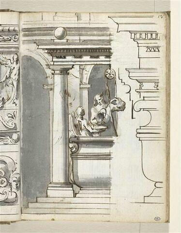 Motifs décoratifs sculptés