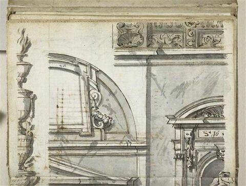 Motifs décoratifs architecturaux et sculpturaux