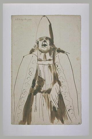L'archevêque Menander, en buste, de face