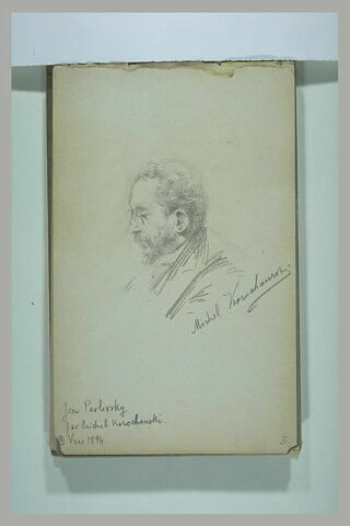 Portrait de Isaac Iakovlevitch Pavlovsky