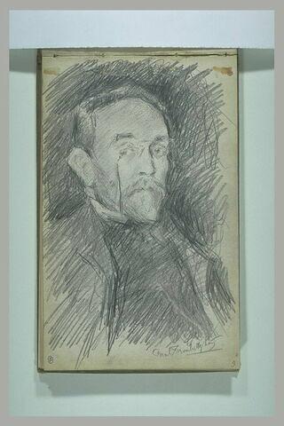 Portrait  d'Isaac Iakovlevitch Pavlovsky