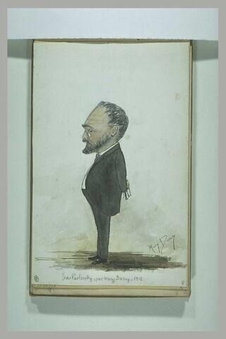 Portrait charge d'Isaac Iakovlevitch Pavlovsky