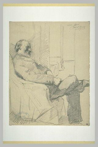 Portrait du père de l'artiste