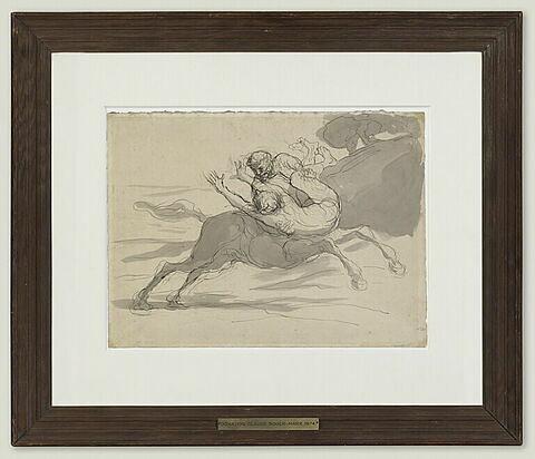 Centaure enlevant une femme