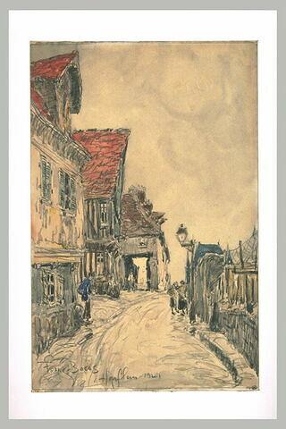 Rue à Honfleur