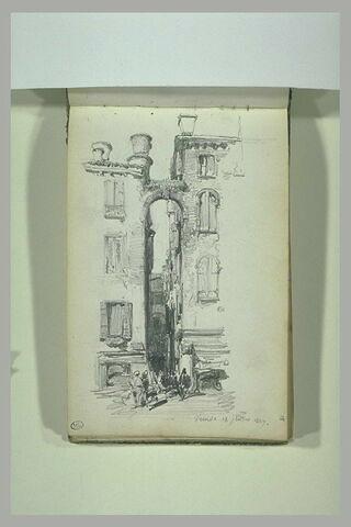 Façades de maisons à Venise