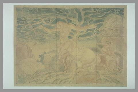 Centaure et arbre