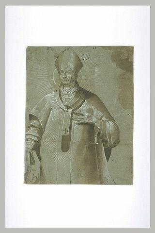 Saint Charles Borromée, dans une gloire