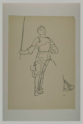 Statue équestre : Jeanne d'Arc