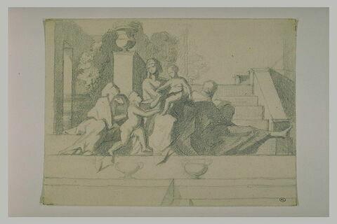 Sainte Famille, avec Sainte Anne et saint Jean-Baptiste enfant