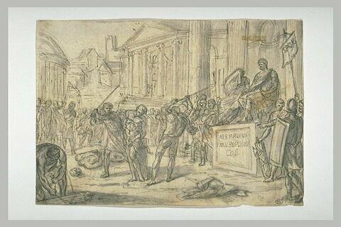 Exécution des fils de Brutus
