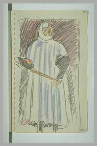 Personnage en costume médiéval