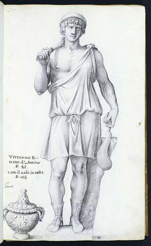Statue de 'VERTUNNO RI=/TRATTO D'ANTINO'