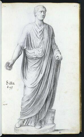 Statue de 'SILLA'