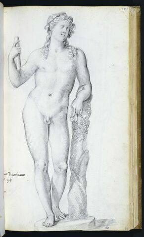 Statue de 'BACCO TRIONFANTE'