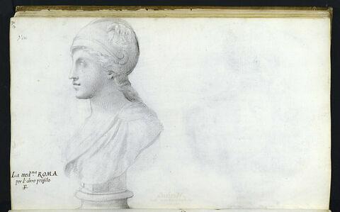 Buste représentant 'ROMA'