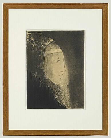 Profil de lumière : profil de femme voilée